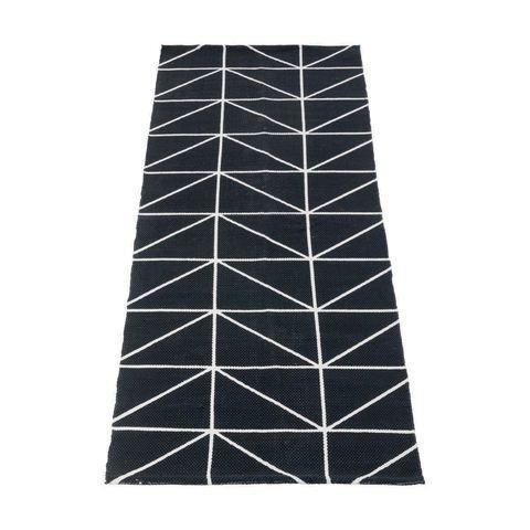 Pattern Print Runner - Black