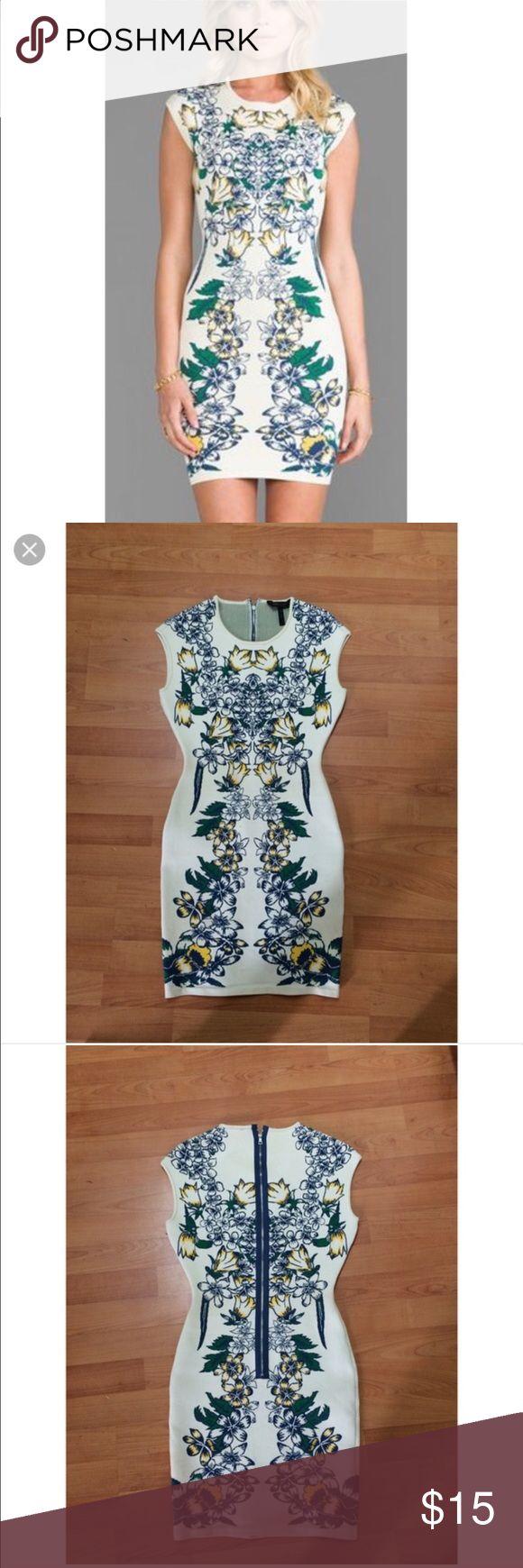 BCBG high quality bandage dress BCBG thick material bandage dress... body contouring...broken zipper BCBG Dresses