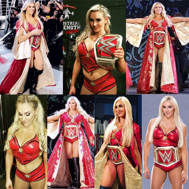 Charlotte Flair red Gear!