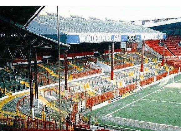 Stretford End Old Trafford 1980's