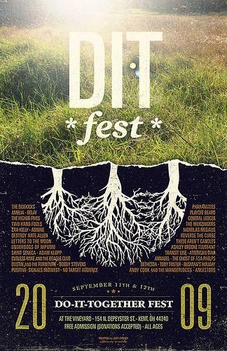poster design for DIT Fest
