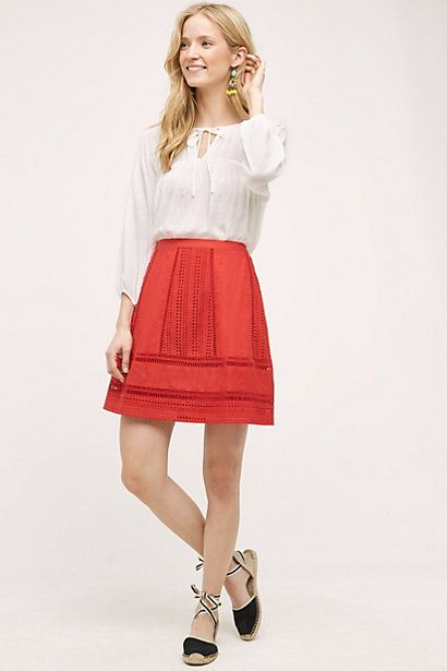 Fernanda Skirt #anthropologie