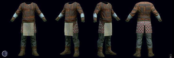 ArtStation - Viking Leather Armor, Carlos Jacinto