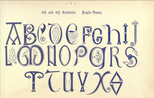11 Beautiful Alphabets from Ancient and Medieval Times | Mental Floss