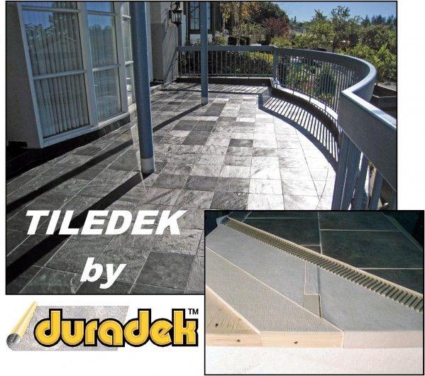 Tiledek Image with Duradek Logo