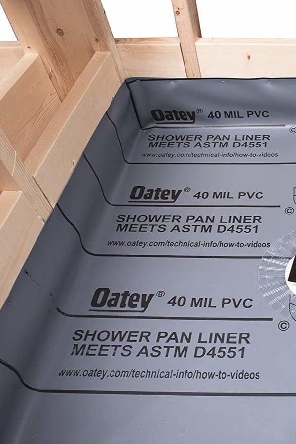 Shower Pan Liner Things You Need To Know Before Installing In
