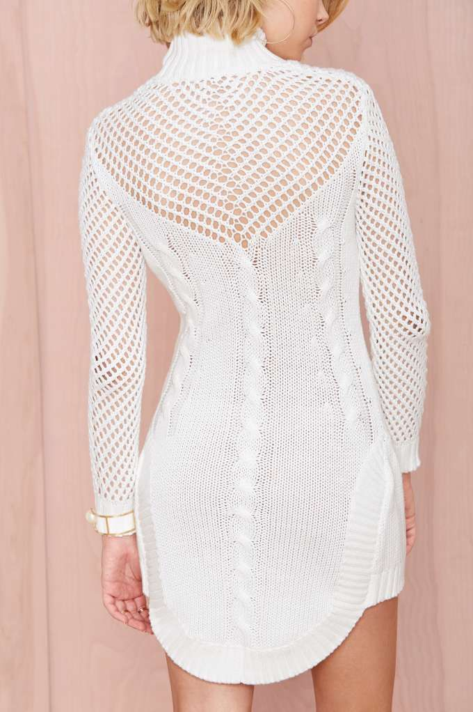 Bless'ed Are the Meek Walway Sweater Dress - Cocktail Dresses | Casual Dresses | Bodycon Dresses