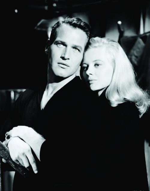 with Shirley Knight in 'Sweet Bird of Youth', 1962.