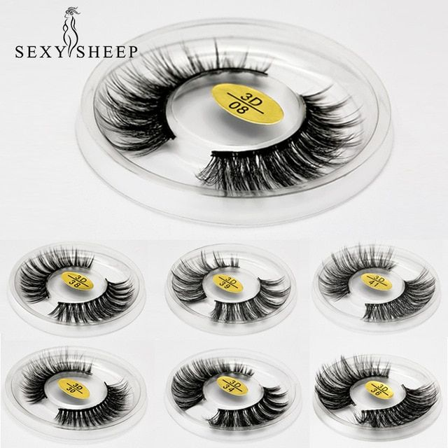 Sexysheep Eyelashes 3d Mink False Eyelashes Lashes Thick Handmade Lashes Fake Lashes Makeup Eyelash Kit Beautifu Fake Lashes Makeup Fake Lashes False Eyelashes