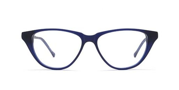 OH JACKIE I In memory of Mrs K. An easy to wear cat-eye shape with a modern touch. Royal Blue is a dark sophisticated blue.