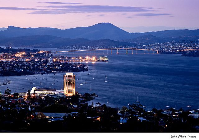 I will be there next week. And for the next whole year!   Hobart, Tasmania, Australia :)