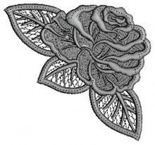 Lace floral lace embroidery designs for machines