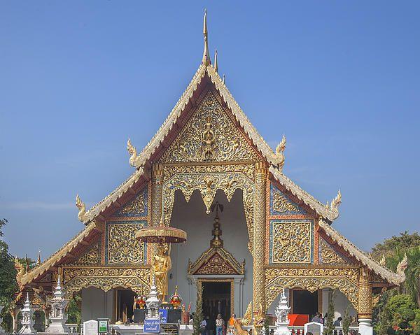 2013 Photograph, Wat Phra Singh Phra Wihan Luang Gable, Tambon Phra Sing, Mueang Chiang Mai District, Chiang Mai Province, Thailand. © 2013.  ภาพถ่าย ๒๕๕๖ วัดพระสิงห์ หน้าจั่ว พระวิหารหลวง ตำบลพระสิงห์ เมืองเชียงใหม่ จังหวัดเชียงใหม่ ประเทศไทย