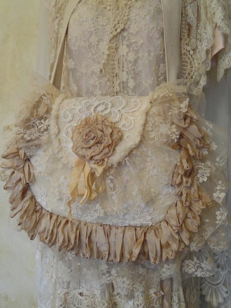 Vintage Lace Wedding Purse