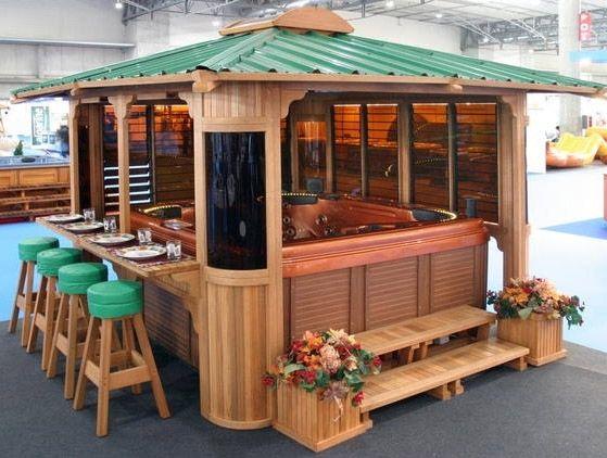 25 best ideas about hot tub gazebo on pinterest hot tub garden hot tub pergola and jacuzzi - Gazebo pergola designs dream spot ...