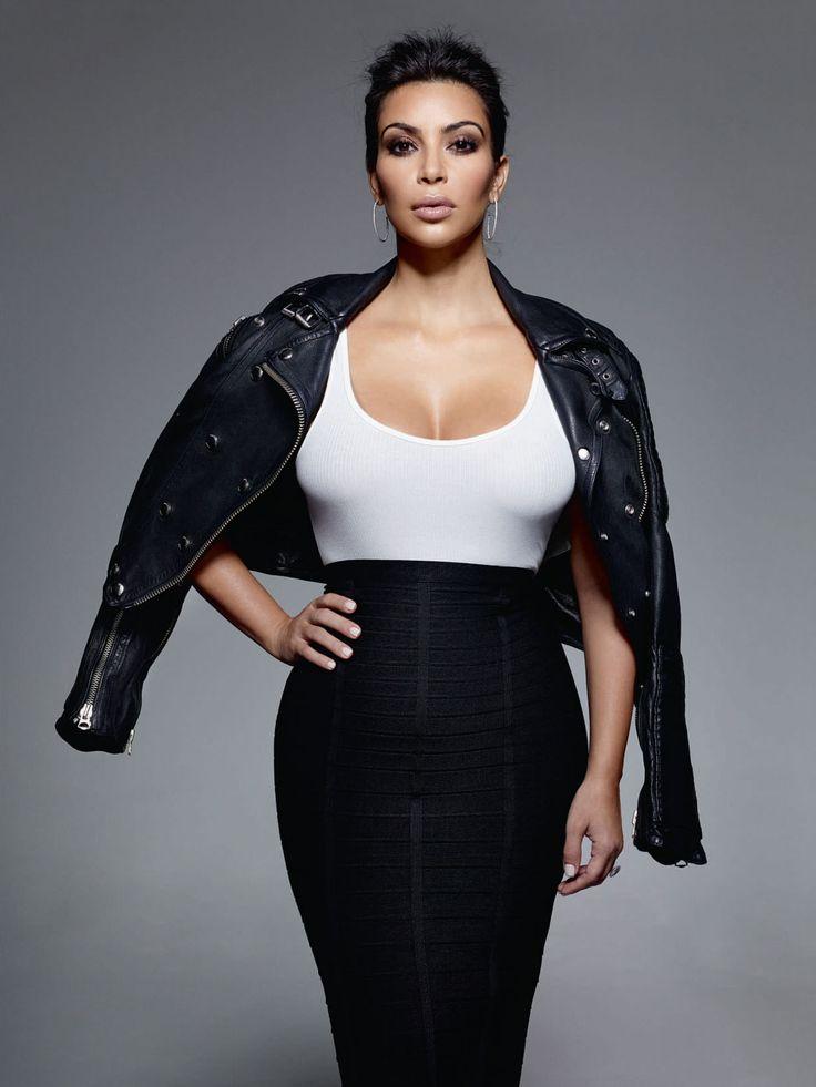 Kim Kardashian photoshoot for ELLE UK