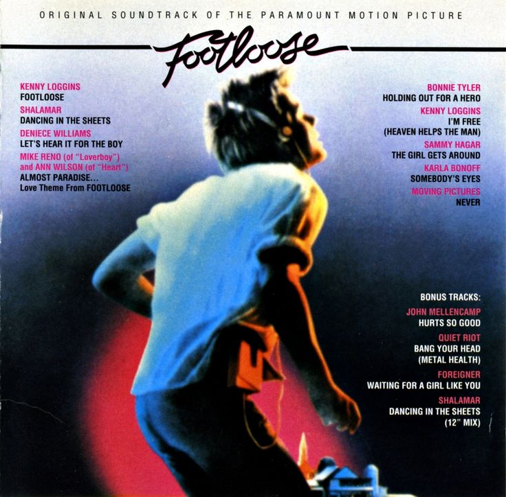 """Soundtrack to the movie Footloose with Kevin Bacon 