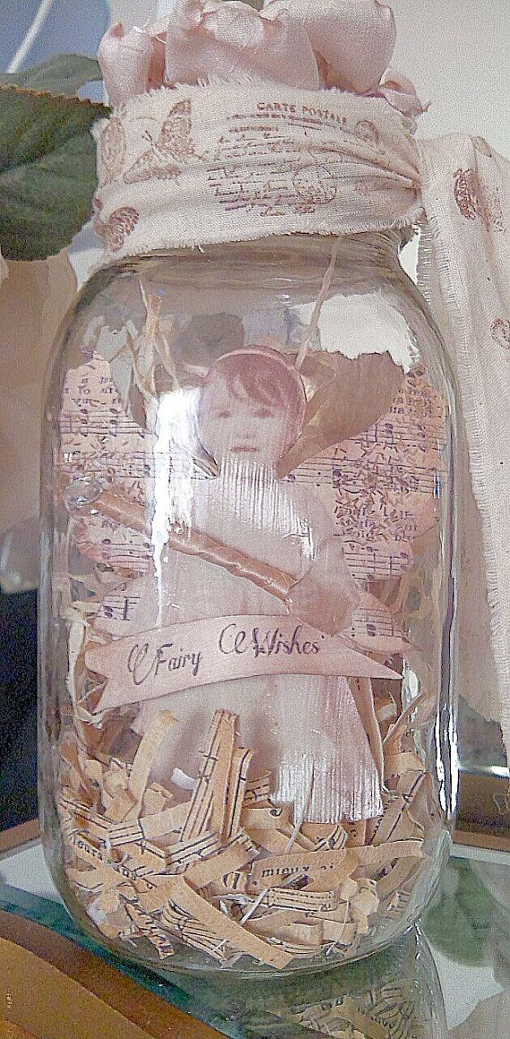 Captured Fairy In Jar With Poem By Devineimagination On