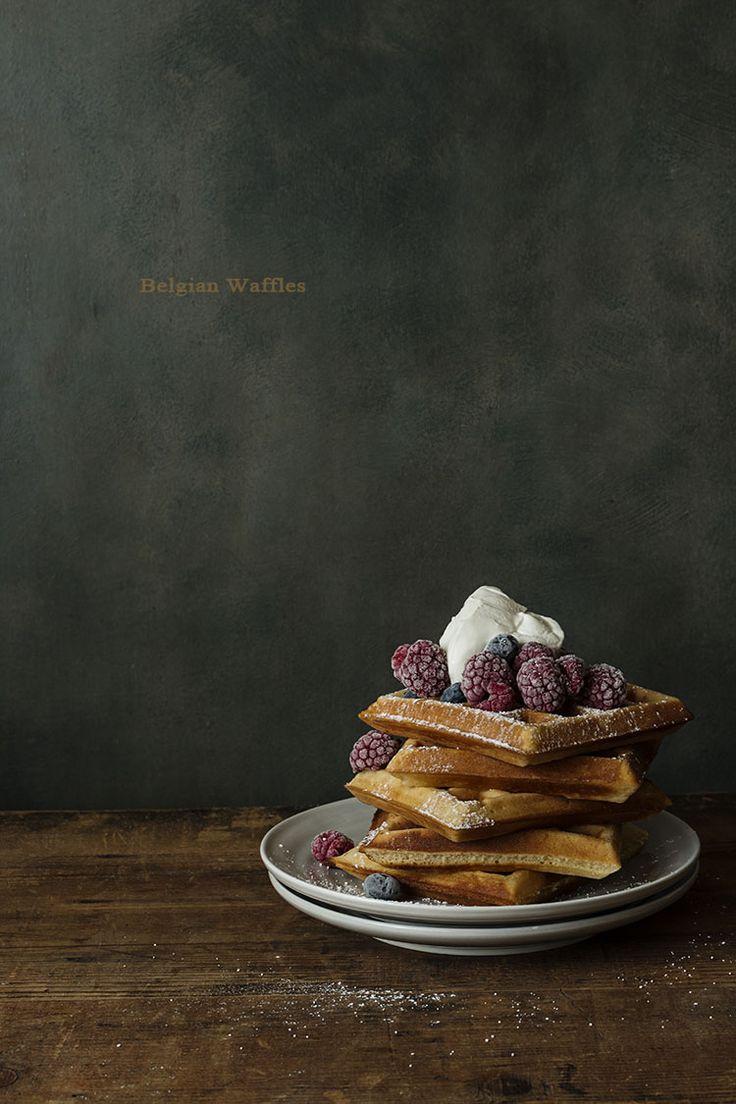 Crunchy Belgia Waffles. Tips. Gofres Belgas Crujientes, paso a paso y trucos