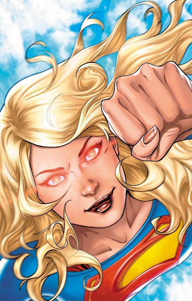 As Kara seeks to restore her lost powers, the lost Kryptonian werewolf Lar-On strikes! SUPERGIRL: REBIRTH #1, available 8/17!