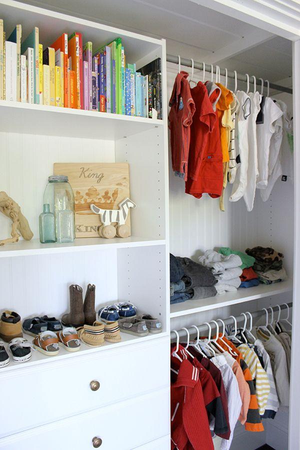 Closet Organization For A Little Boy 39 S Room Closet
