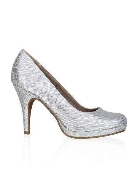 Tamaris Textil-Pumps - grau - Gratis Versand   Schuhe   Pumps   Online Shop    1121424054   Like   Shoes, Pumps und Shopping d893b3738c