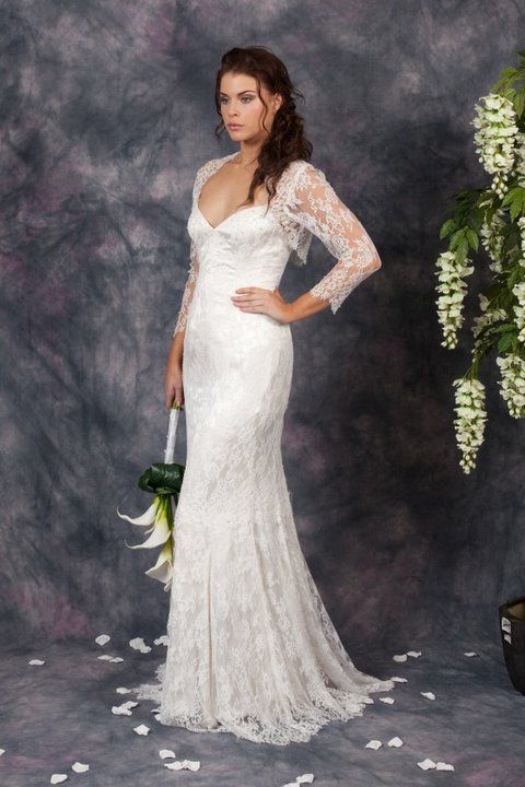 Lace trumpet wedding dress http://www.arcarocouture.com.au/