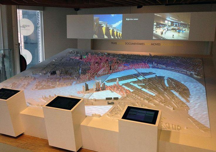 Interactive 3D model of Rotterdam.