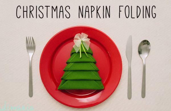 Pranzo di Natale: idee per decorare la tavola con i tovaglioli! Guarda il video tutorial cliccando qui: http://www.videopazzeschi.com/pranzo-di-natale-idee-per-decorare-la-tavola-con-tovaglioli/