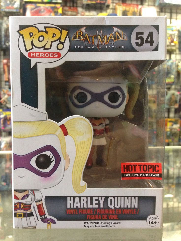 Funko POP! Batman Arkham Asylum Harley Quinn Hot Topic Exclusive