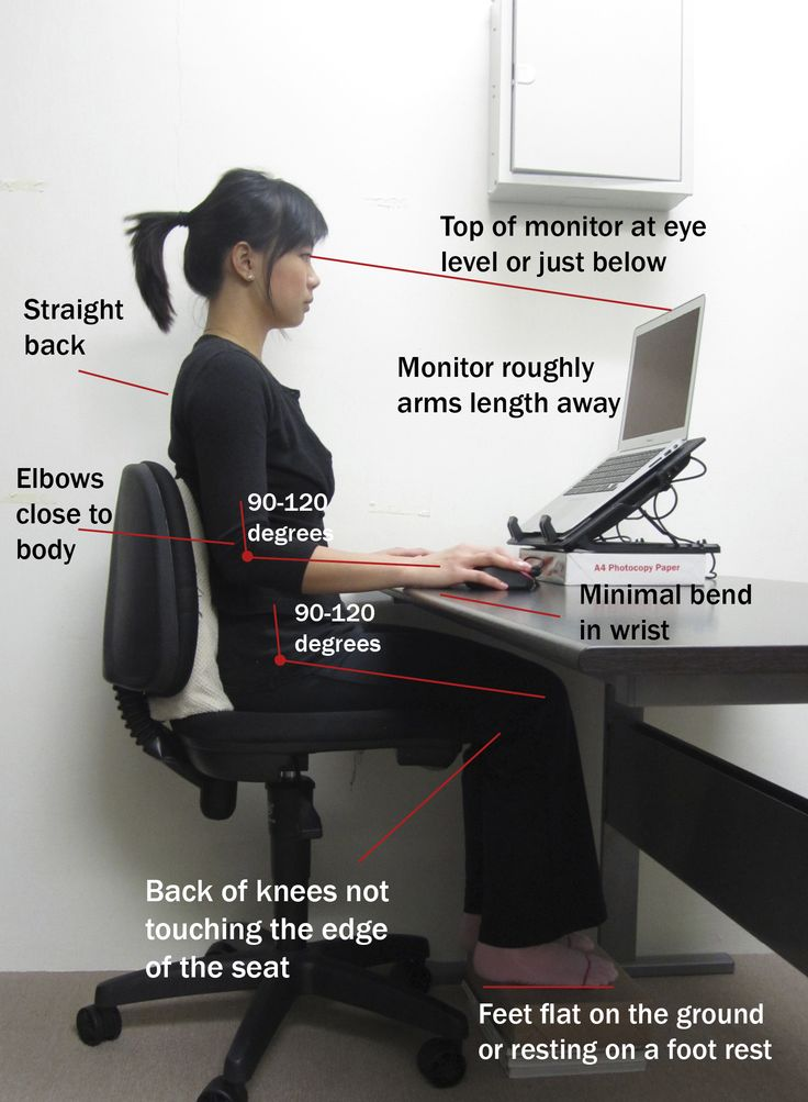 Weak legs, neck problems,eye sight problems are some of the things you might suffer from when using the internet