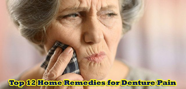 Home Remedies for Denture Pain helps to reduce pain from the gums as well as…
