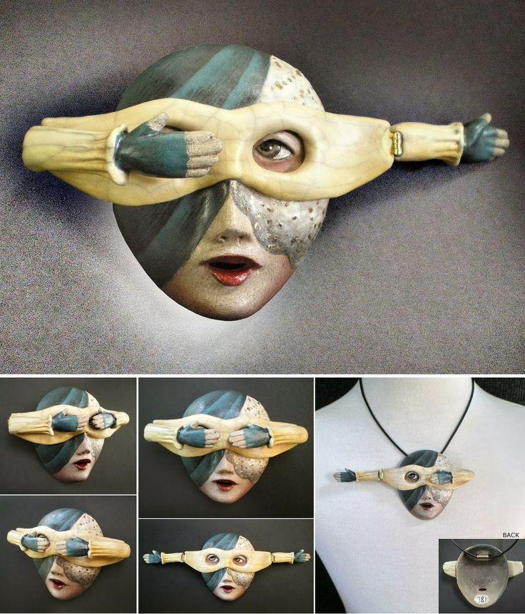 92 Best Masks Ceramics Images On Pinterest Clay Masks