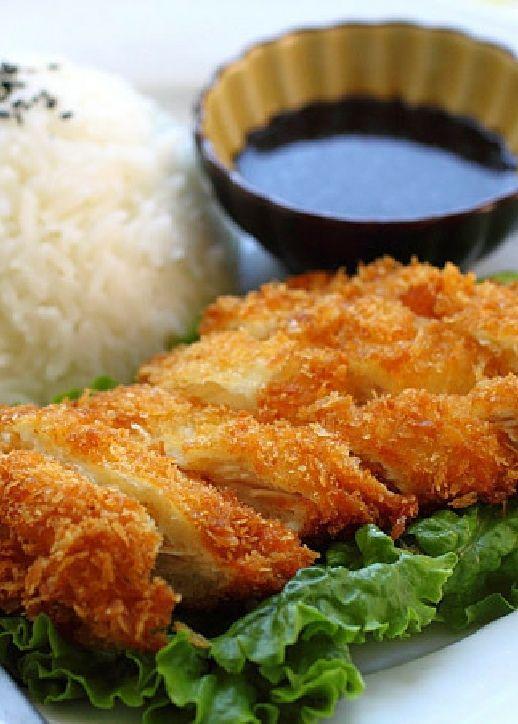 Low FODMAP Recipe and Gluten Free Recipe - Chicken katsu   http://www.ibs-health.com/low_fodmap_chicken_katsu_recipe.html