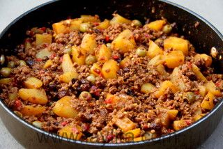 Cuban beef picadillo | Recipe | Recipe