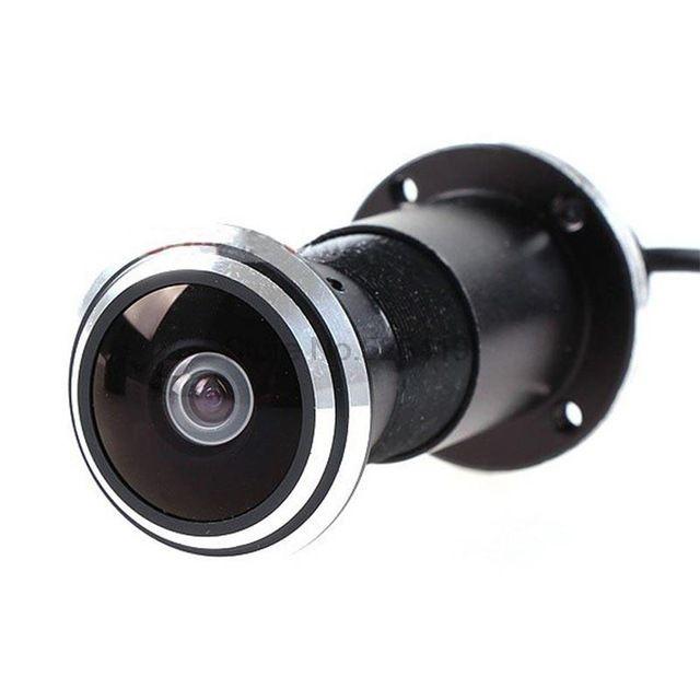 HD Hidden mini CCD pinhole cateyes door camera AV out Door AHD Camera Fisheye lens cctv home security  sc 1 st  Pinterest & 19 best Smart home camera (CCTV system ) images on Pinterest ... pezcame.com
