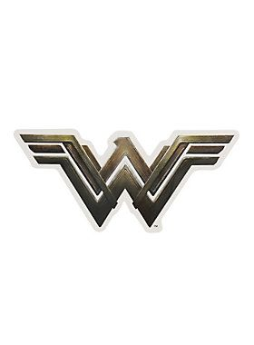 For your invisible jet // DC Comics Wonder Woman Logo Decal