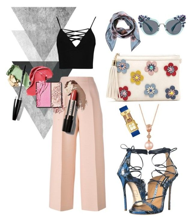 """A Great to Go for Daylight Informal Meeting"" by klaudiafraulein on Polyvore featuring LE VIAN, Boohoo, Fendi, Valentino, Miu Miu, Dsquared2 and Tory Burch"