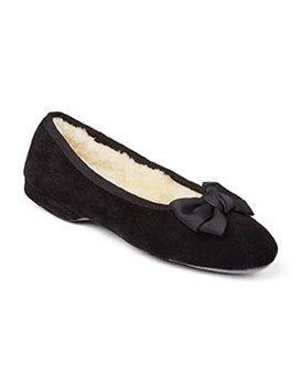 Ladies Sheepskin Slippers Ballerina #Shoes #Footwear #Autumn #Morlands #Slippers #Cosy #Sheepskin #Vintage #Style #Glastonbury #Warm