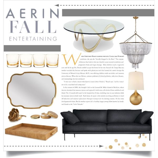 """Fall Entertaining: AERIN's Essentials"" by veronikasinterior on Polyvore"