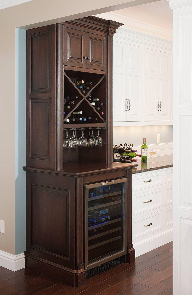 Wine fridge cabinet wine wine glass racks storage solutions