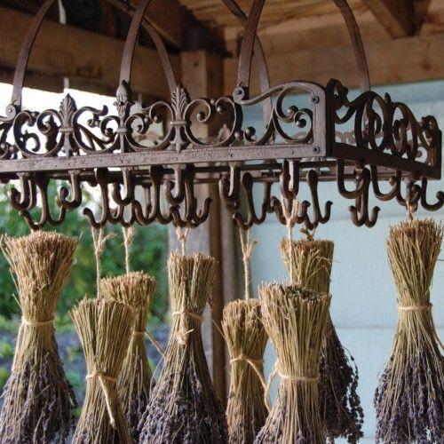 Victorian Pot Rack | Indeed Decor