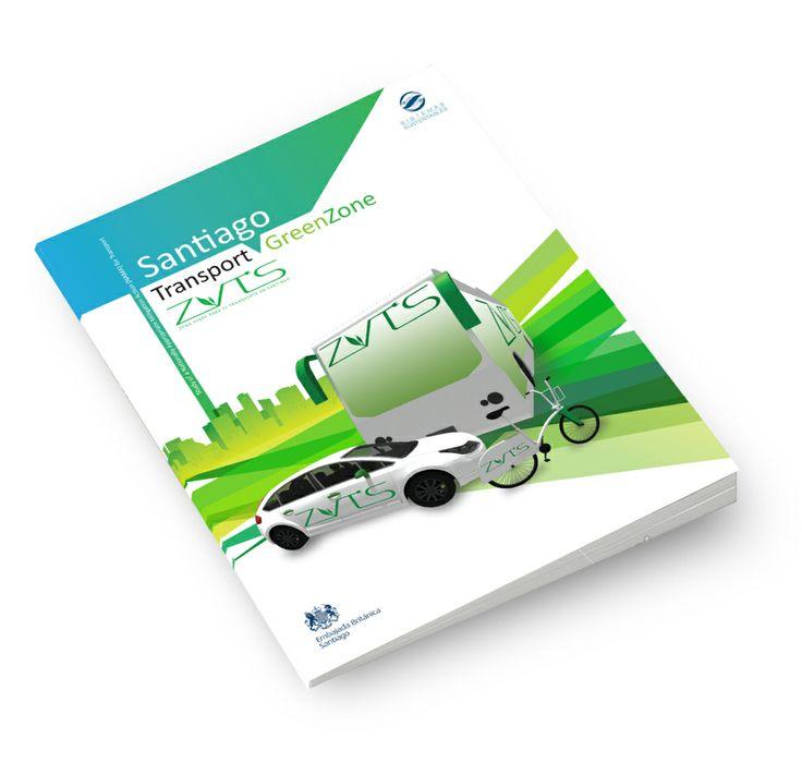 Diseño editorial para manual de proyecto Zona Verde en Santiago