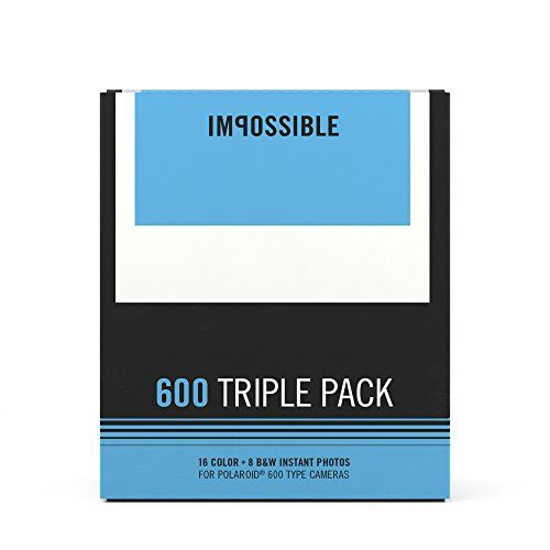 Impossible Polaroid 600 Film Triple Pack * For more information, visit image link.