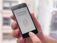Apple eyes fingerprint sensors to connect various devices In a patent application, the iPhone maker explains a system for wireless pairing and device communication using biometrics like fingerprint scanners, retina scans, and voice signatures.