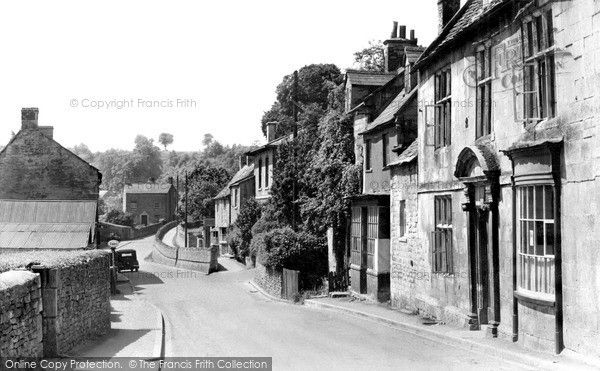 """""""Old photo of High Street c1950, Blockley"""""""