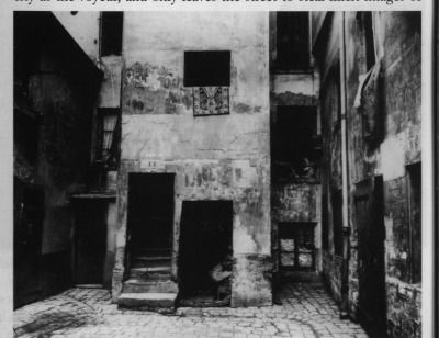 "thecounterpunchingradio: ""Cour 41 rue Broca Paris 5 1912 Eugène Atget"""