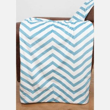 Throw Blanket Maui Blue, $25, now featured on Fab. [Marlo Lorenz, THRO]