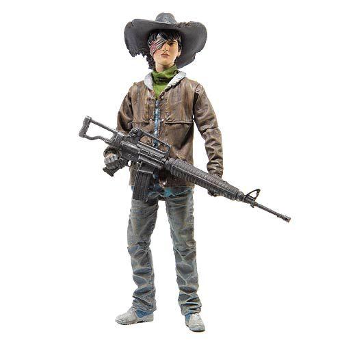 (affiliate link) The Walking Dead Comic Series 4 Carl Grimes Action Figure