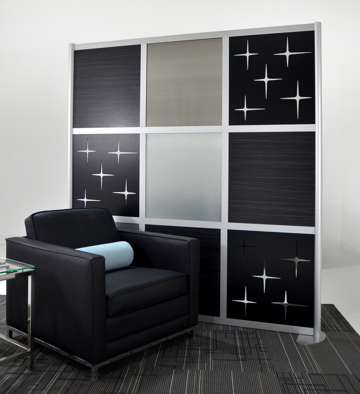 6u0027 screen with custom cut out translucent u0026 solid color panels - Loftwall